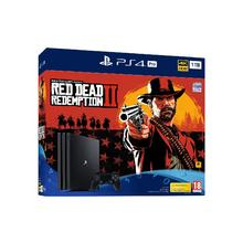 Pack console PS4 PRO 1 To + jeu Red Dead Redemption 2