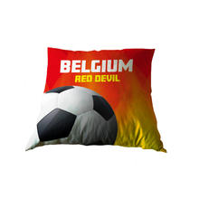 Coussin Belgium Red Devil