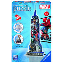 Puzzle 3D Empire State Building Marvel Avengers RAVENSBURGER
