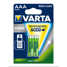 Varta accus rechargeables pour telephone AAA 2 pieces NI-MH POWER58398 398 Micro HR03