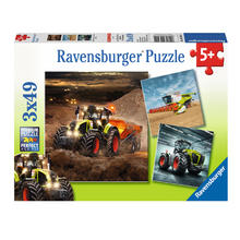 3 puzzles CLAAS RAVENSBURGER