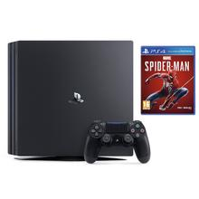 Pack console PS4 PRO 1 To + jeu Spider-Man Marvel + 1 manette